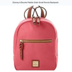Dooney & Bourke Pebble Grain Small Ronnie Backpack